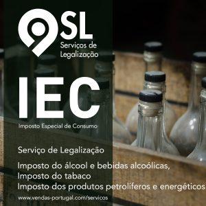Processo de legalização do IEC: Impostos Especiais Sobre o Consumo que incluem a tributação do álcool e bebidas alcoólicas, do tabaco e dos produtos petrolíferos e energéticos
